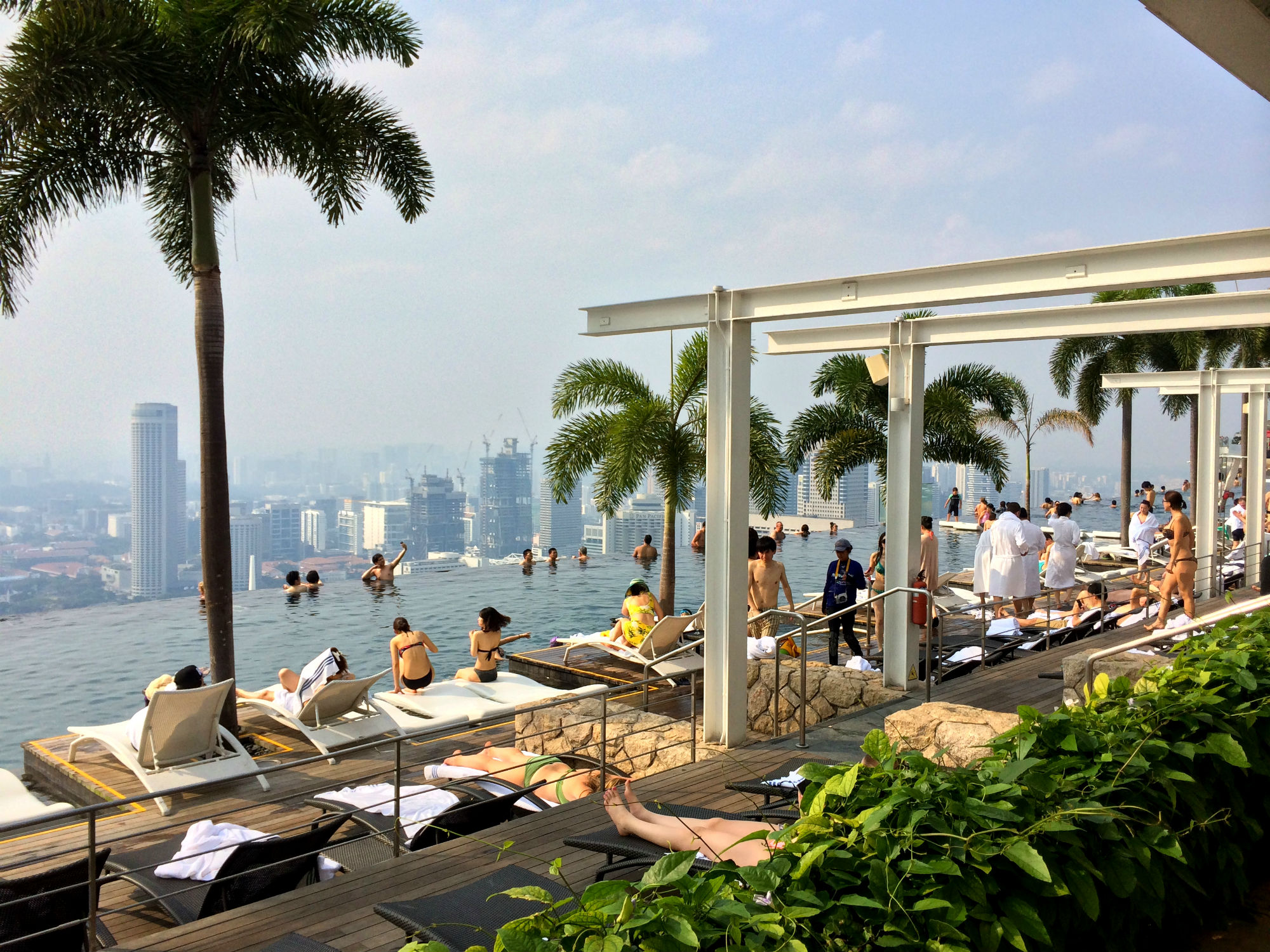 Infinity Pool, Marina Bay Sands Hotel