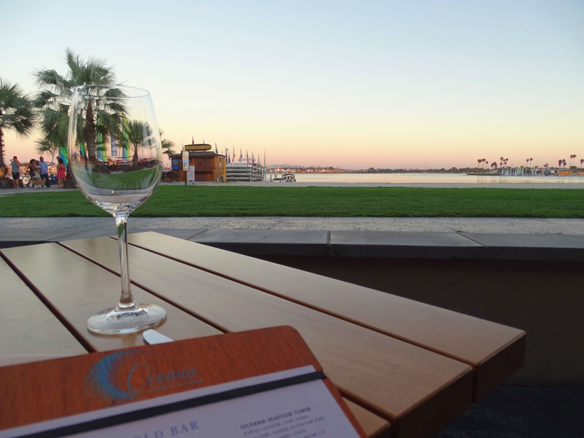 Dinner an der Mission Bay