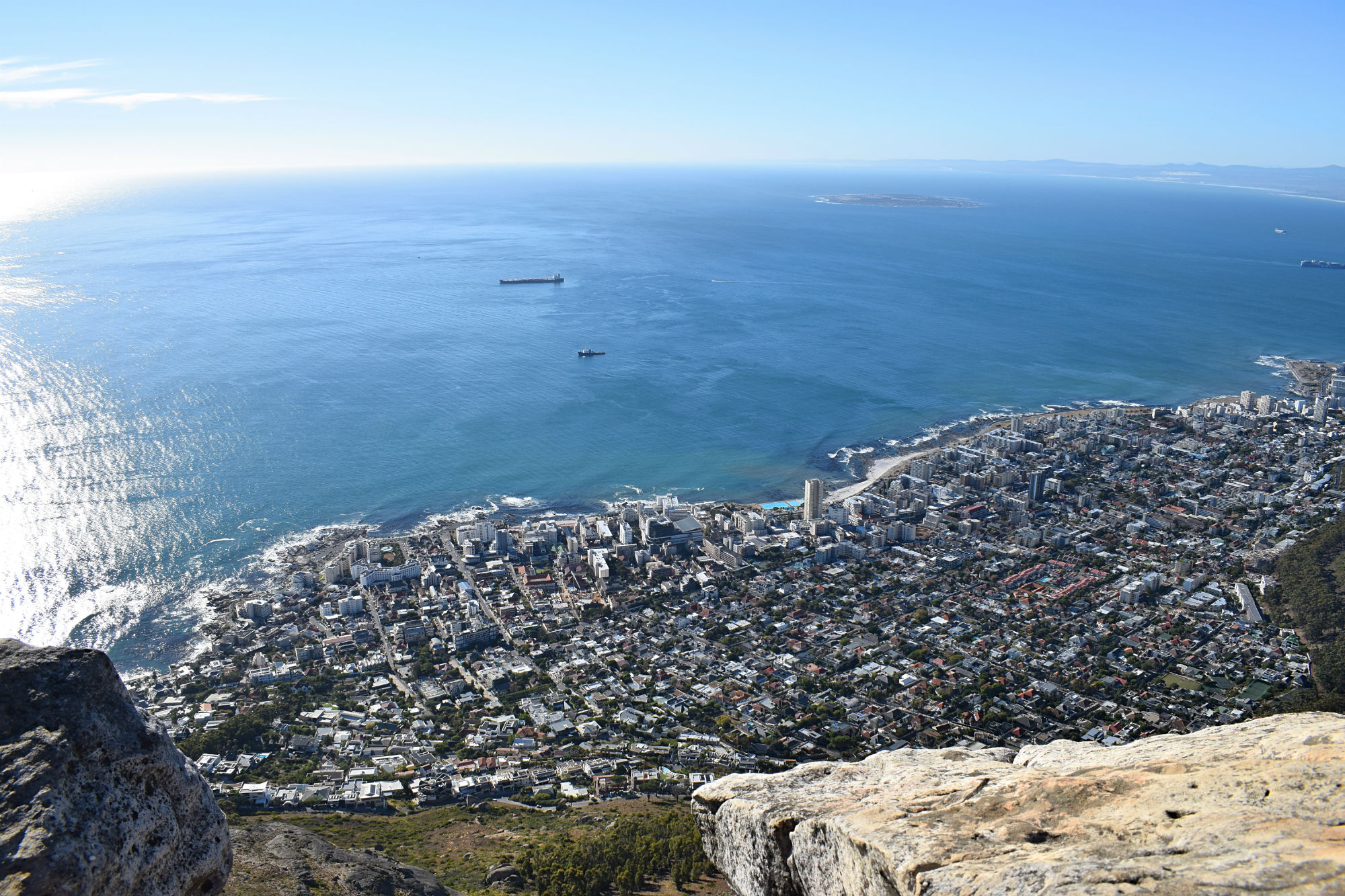 Blick vom Lions Head nach Sea Point
